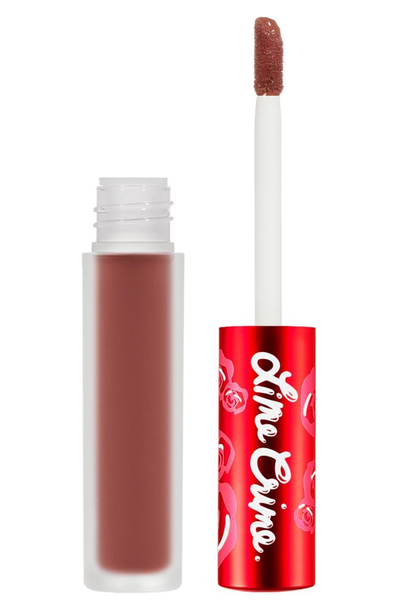 LIME CRIME Velvetines Matte Liquid Lipstick, Main, color, CINDY