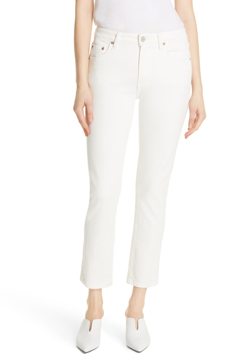 TRAVE Irina High Waist Slim Jeans, Main, color, BIG EMPTY