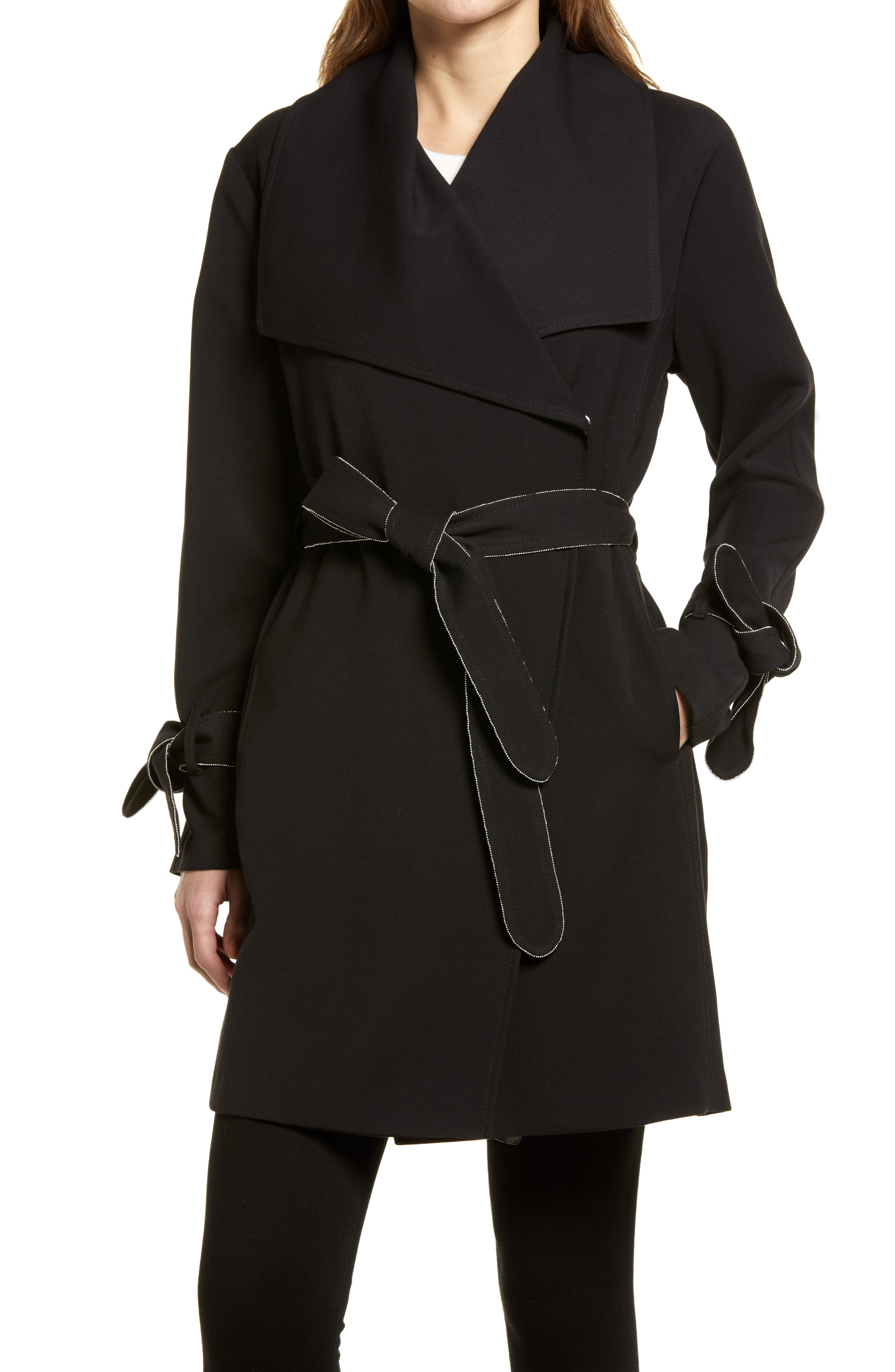 Drop Belted Trench Coat