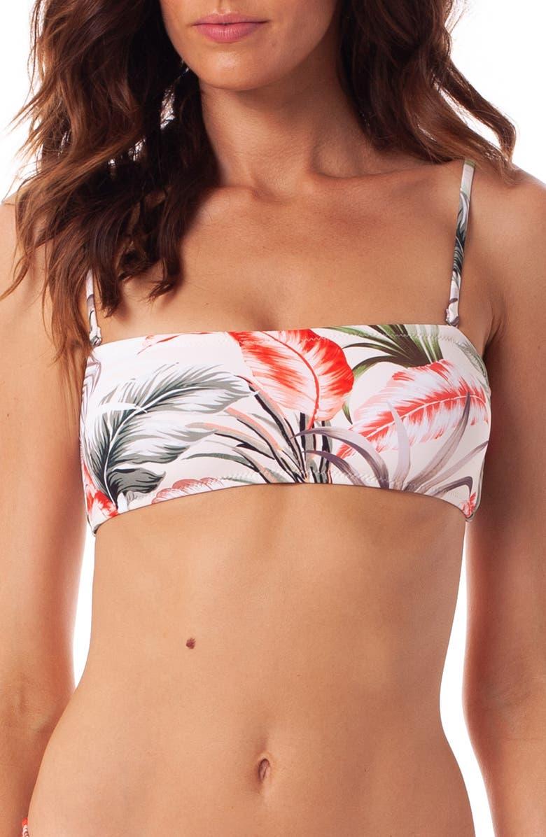 RHYTHM Florida Bandeau Bikini Top, Main, color, SAND