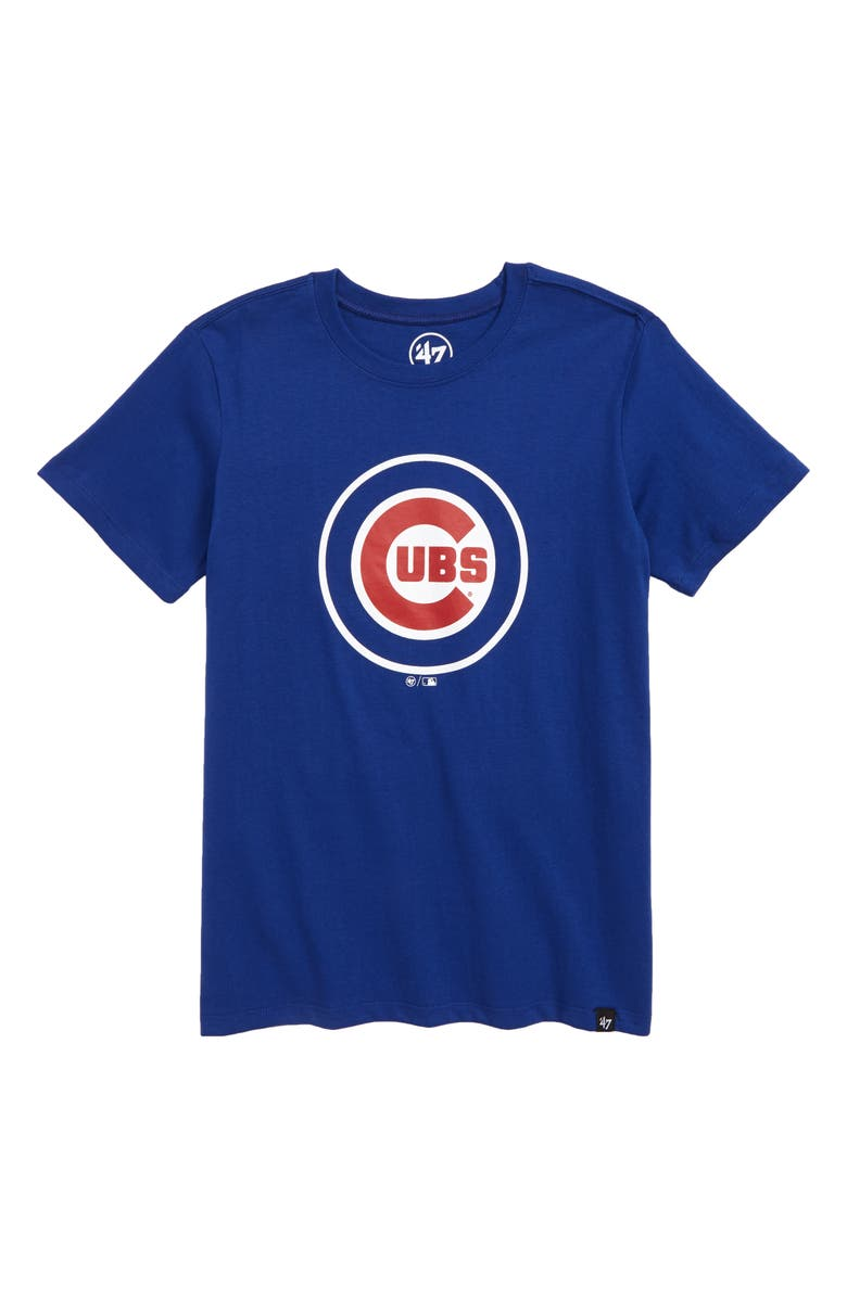 '47 Super Rival Chicago Cubs T-Shirt, Main, color, 447