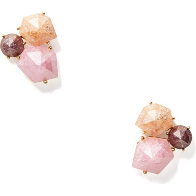 Kate Spade New York Floral Facets Stone Cluster Stud Earrings