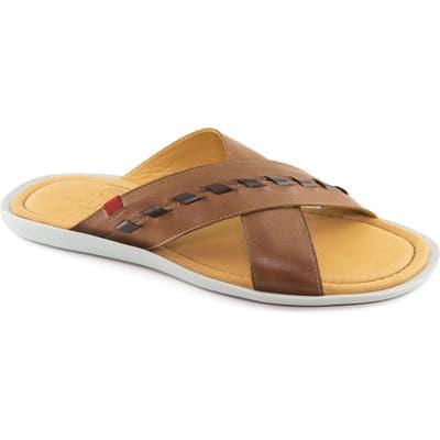 Marc Joseph New York Cedar Beath Slide Sandal, Brown