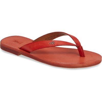 Frye Azalea Flip Flop, Coral