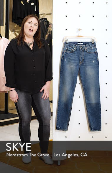 Karolina High Waist Skinny Jeans, sales video thumbnail