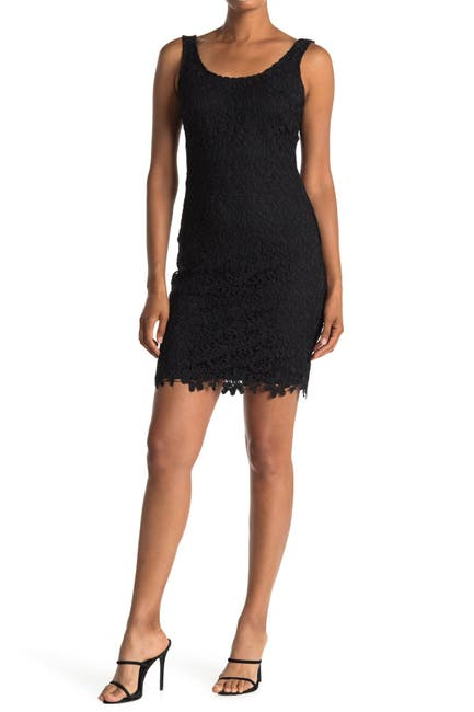 Image of bebe All-Over Lace Bodycon Dress