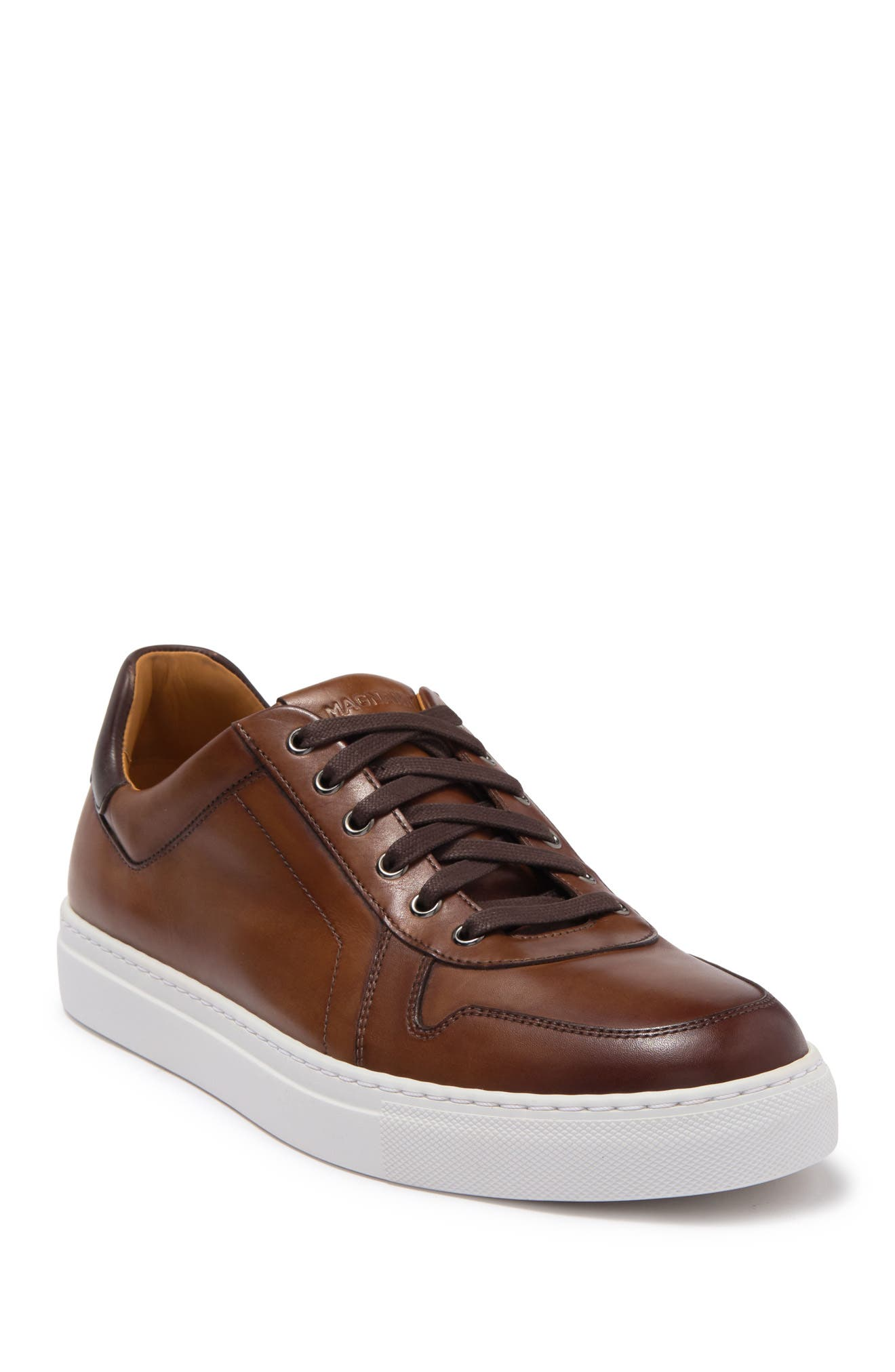 Image of Magnanni Bobbie Leather Low Top Sneaker