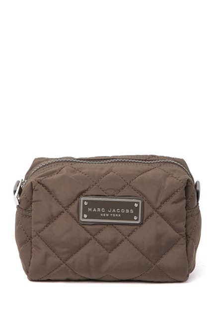 Image of Marc by Marc Jacobs Quilted Nylon Large Cosmetic Case