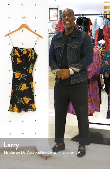 Lark Floral Slipdress, sales video thumbnail