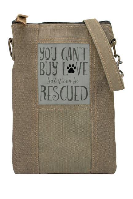 Image of Vintage Addiction Rescued Dog Tent Crossbody Bag Bag