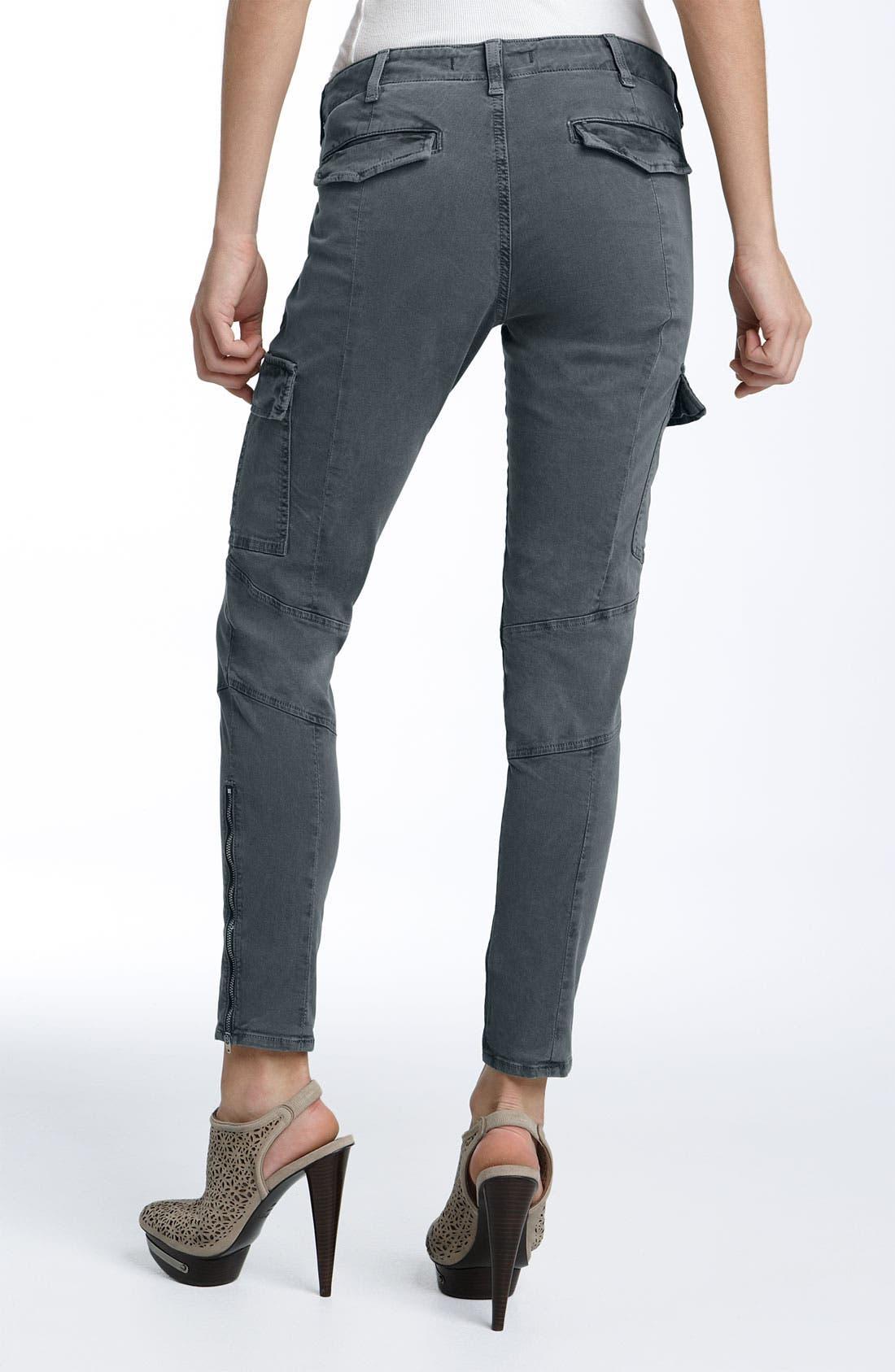 ,                             'Houlihan' Skinny Stretch Cotton Cargo Pants,                             Alternate thumbnail 2, color,                             001