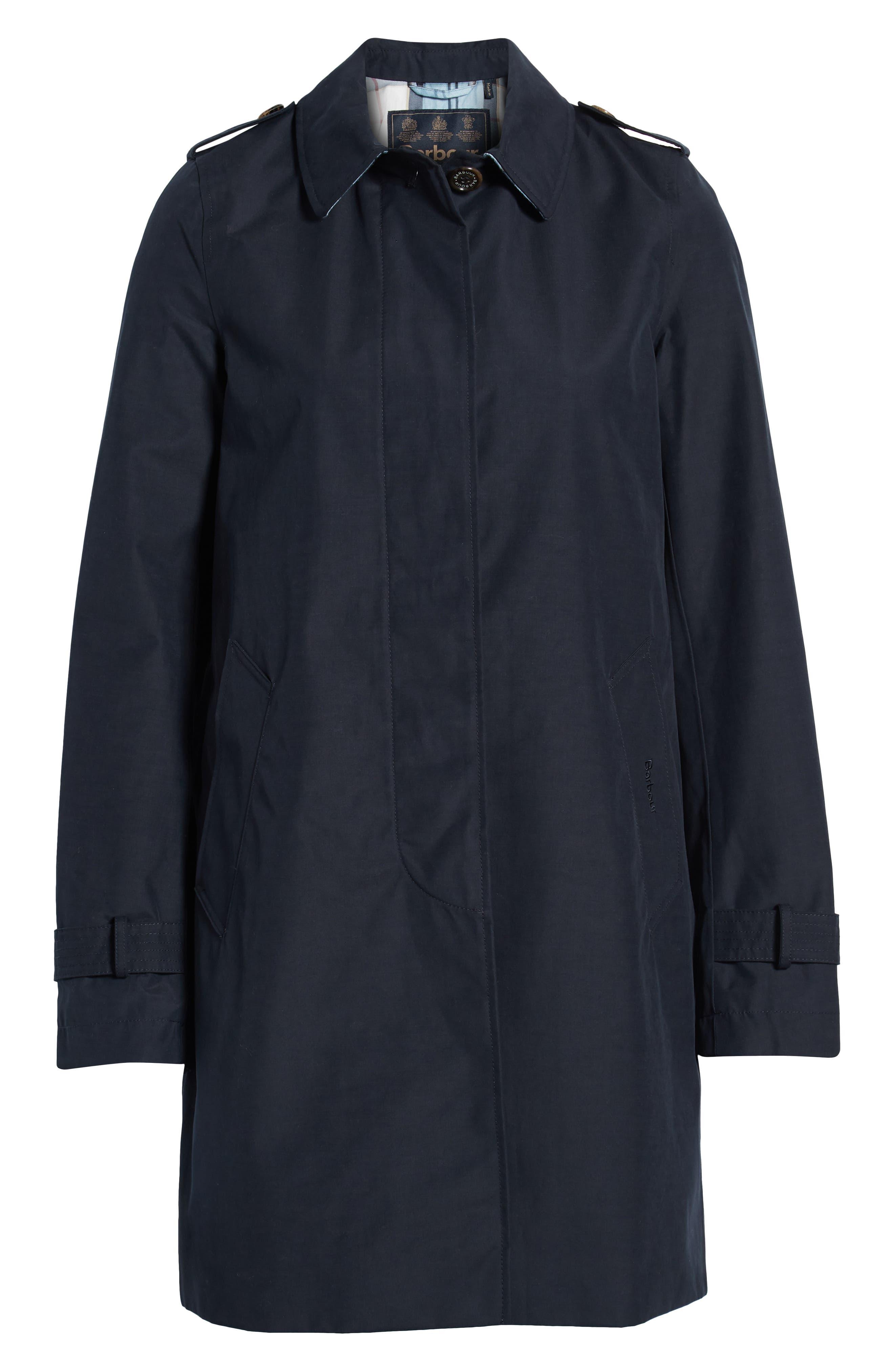 ,                             Laggan Waterproof Raincoat,                             Alternate thumbnail 7, color,                             NAVY