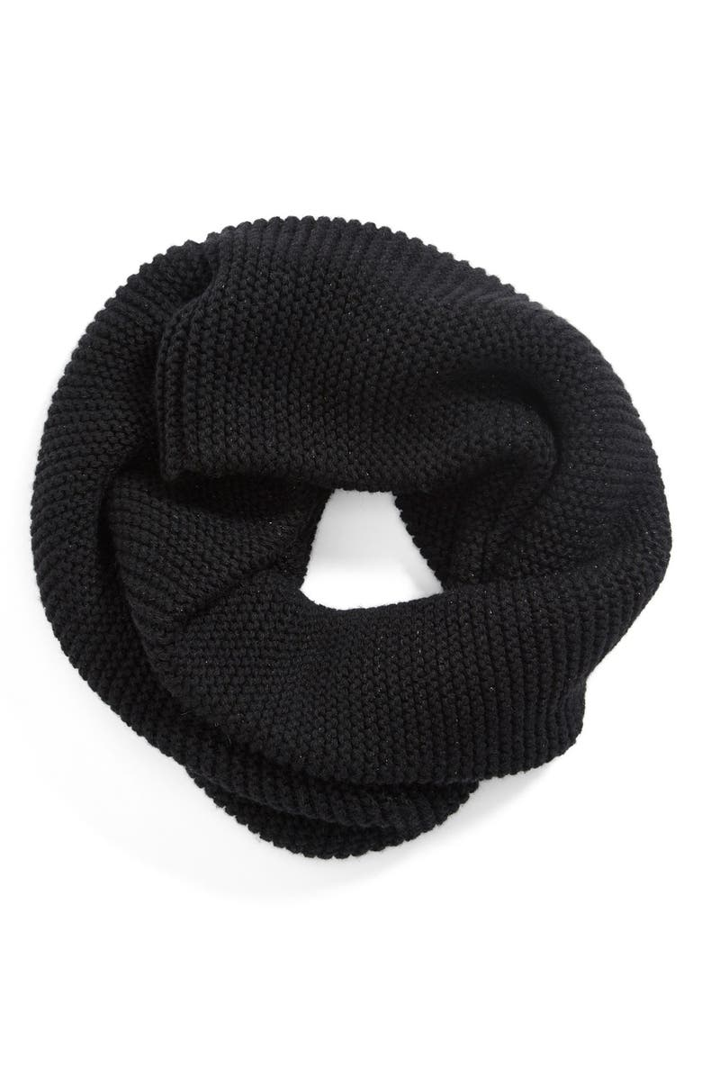 UGG<SUP>®</SUP> Australia 'Twisted Tubular' Snood, Main, color, 001