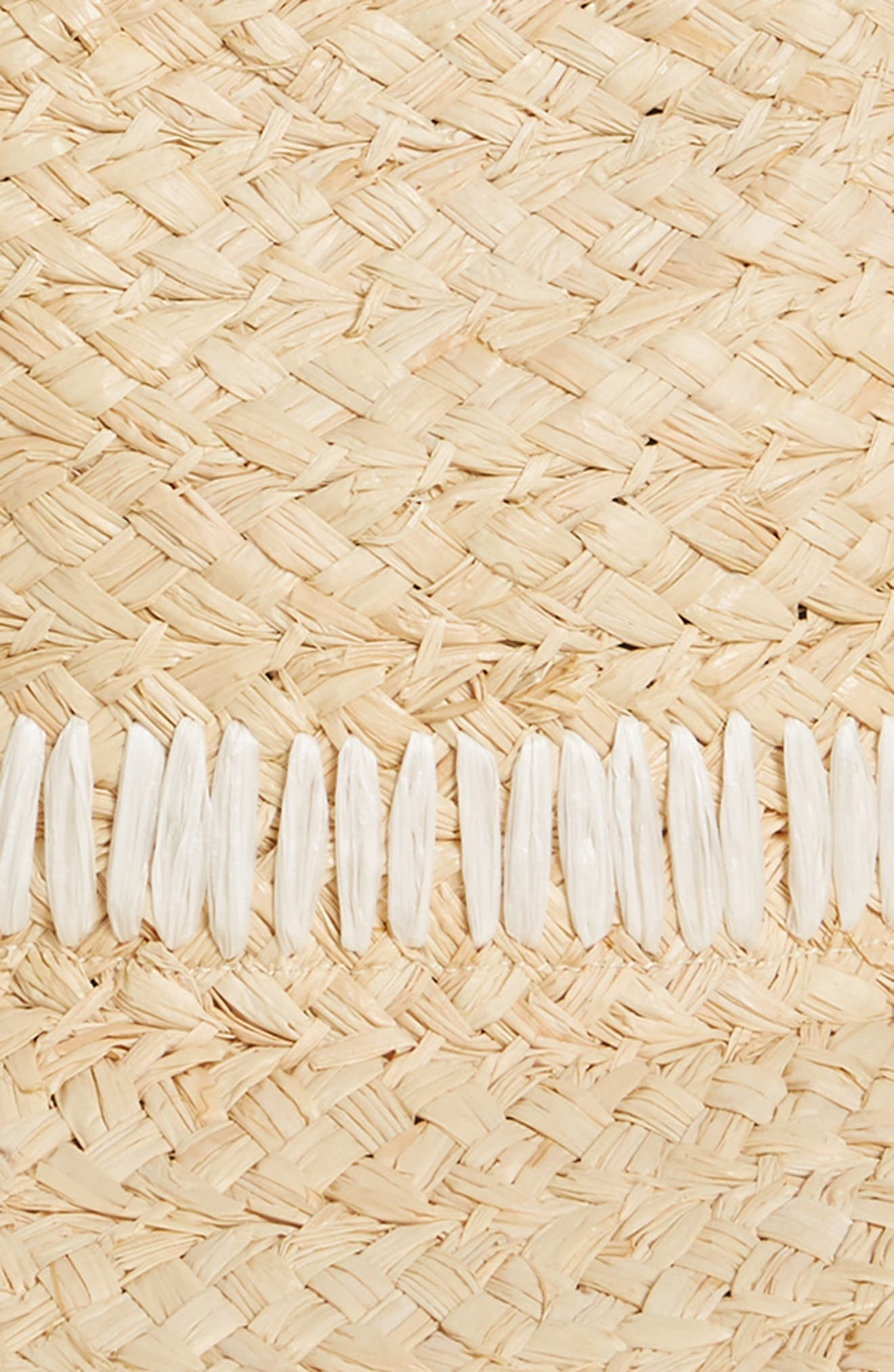 ,                             Frayed Edge Straw Panama Hat,                             Alternate thumbnail 2, color,                             NATURAL COMBO