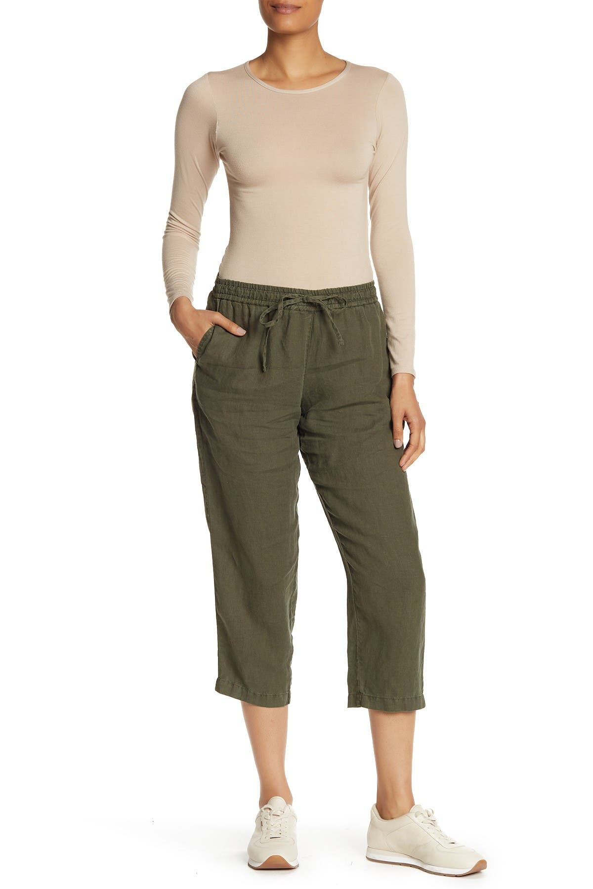 Image of Tommy Bahama Easy Crop Linen Pants