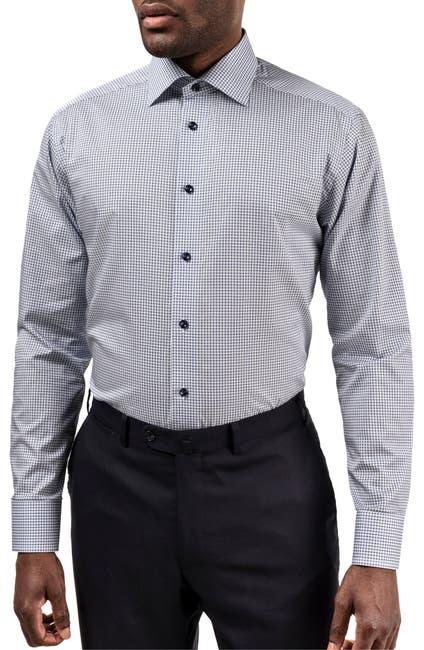 Image of Eton Slim Fit Geometric Dress Shirt