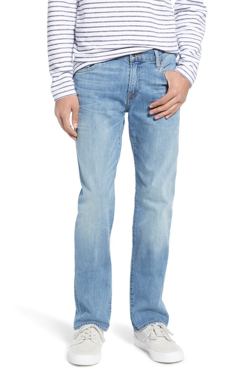 7 FOR ALL MANKIND<SUP>®</SUP> Slimmy Slim Fit Jeans, Main, color, ZEITGEIST