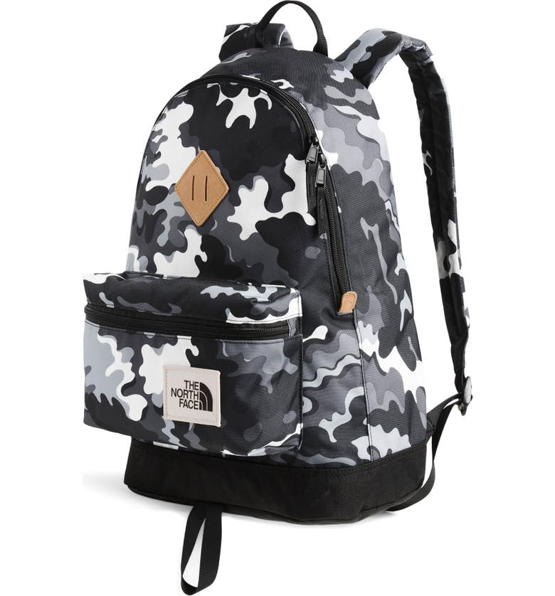 THE NORTH FACE Berkeley Backpack, Main, color, PSYCHEDELIC PRINT/TNF BLACK