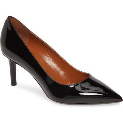 Aquatalia Melina Weatherproof Pointy Toe Pump- Black