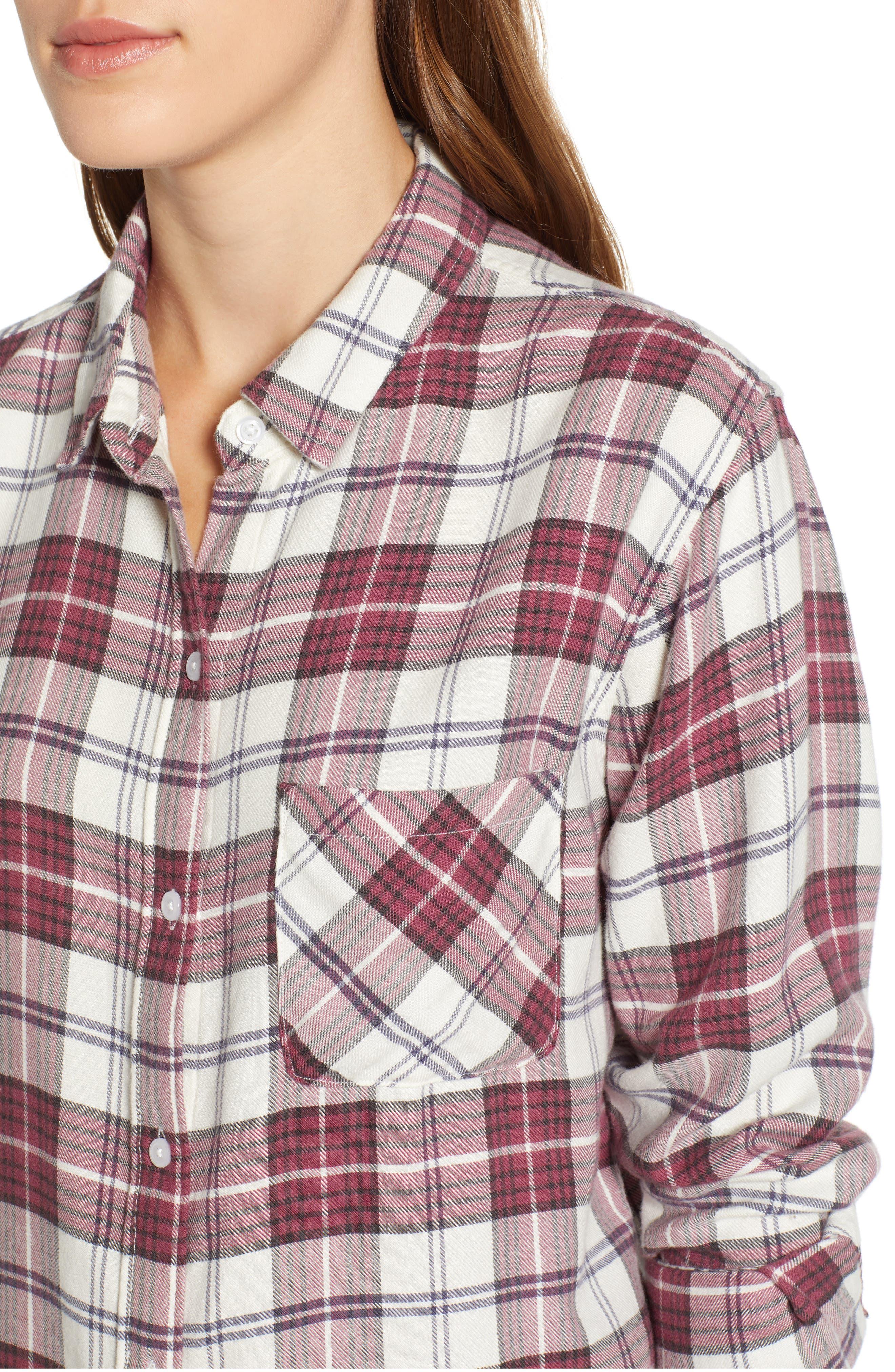 ,                             Hunter Plaid Shirt,                             Alternate thumbnail 450, color,                             938