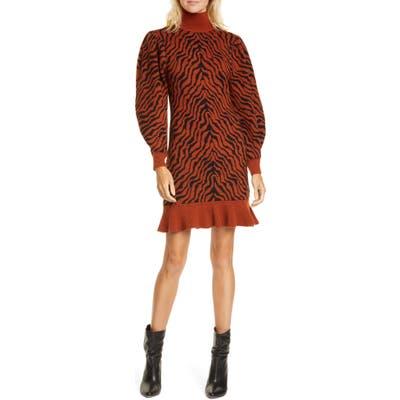 Ulla Johnson Joni Long Sleeve Merino Wool Sweater Dress