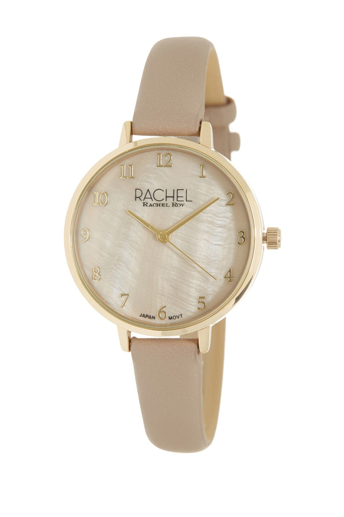 Image of RACHEL Rachel Roy EZ Read Mother of Pearl Watch & Bracelet Set