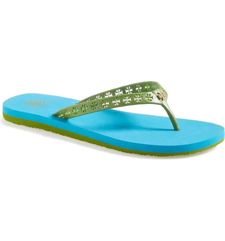 TORY BURCH 'Miranda' Flip Flop, Main, color, 305