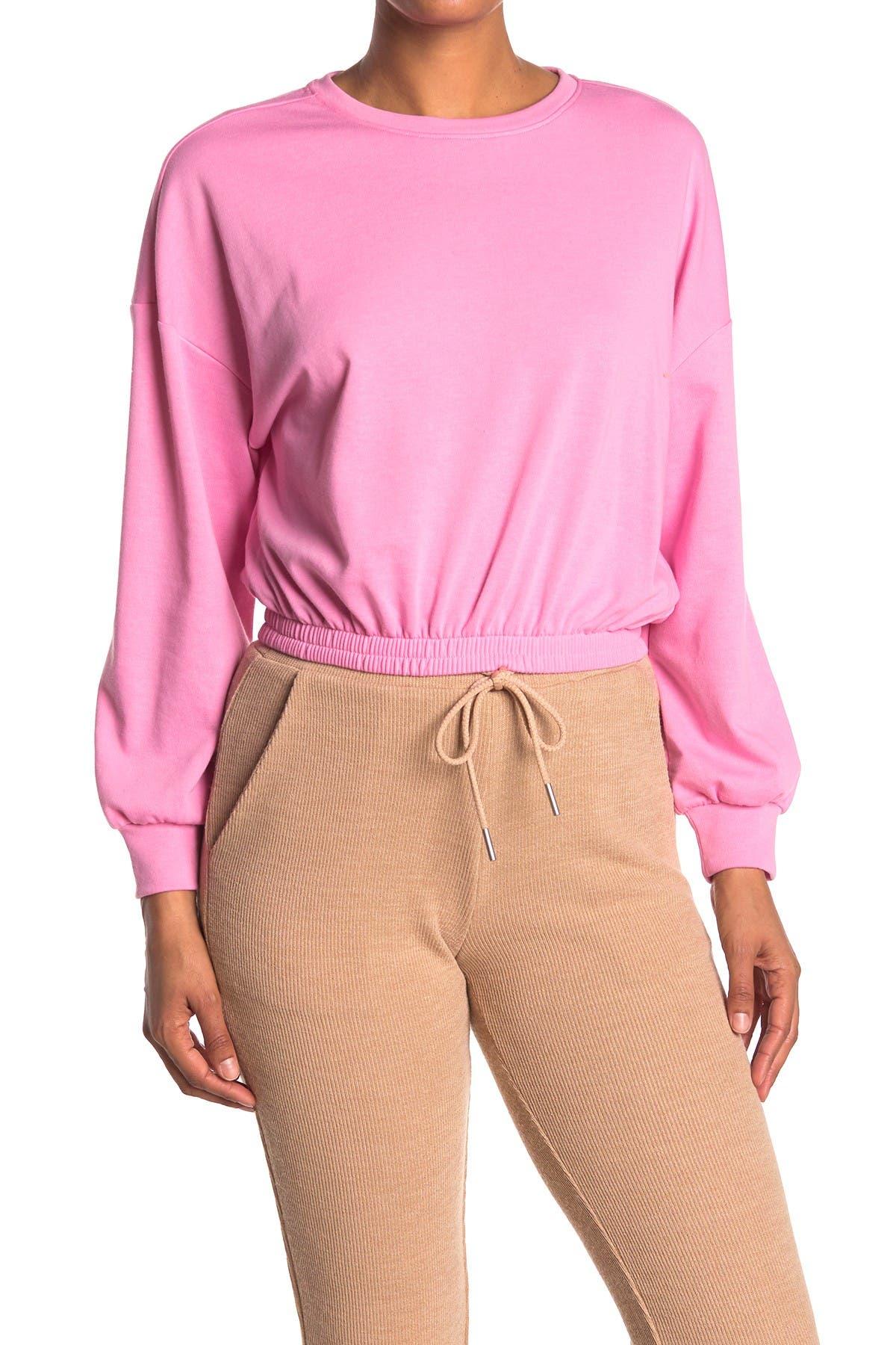 Image of Elodie Neon Elastic Waist Sweatshirt