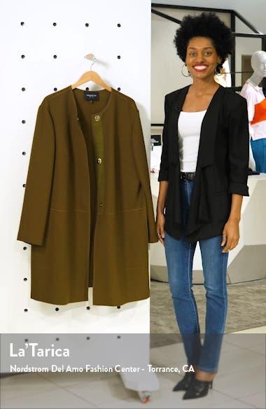 Kierra Wool Jacket, sales video thumbnail