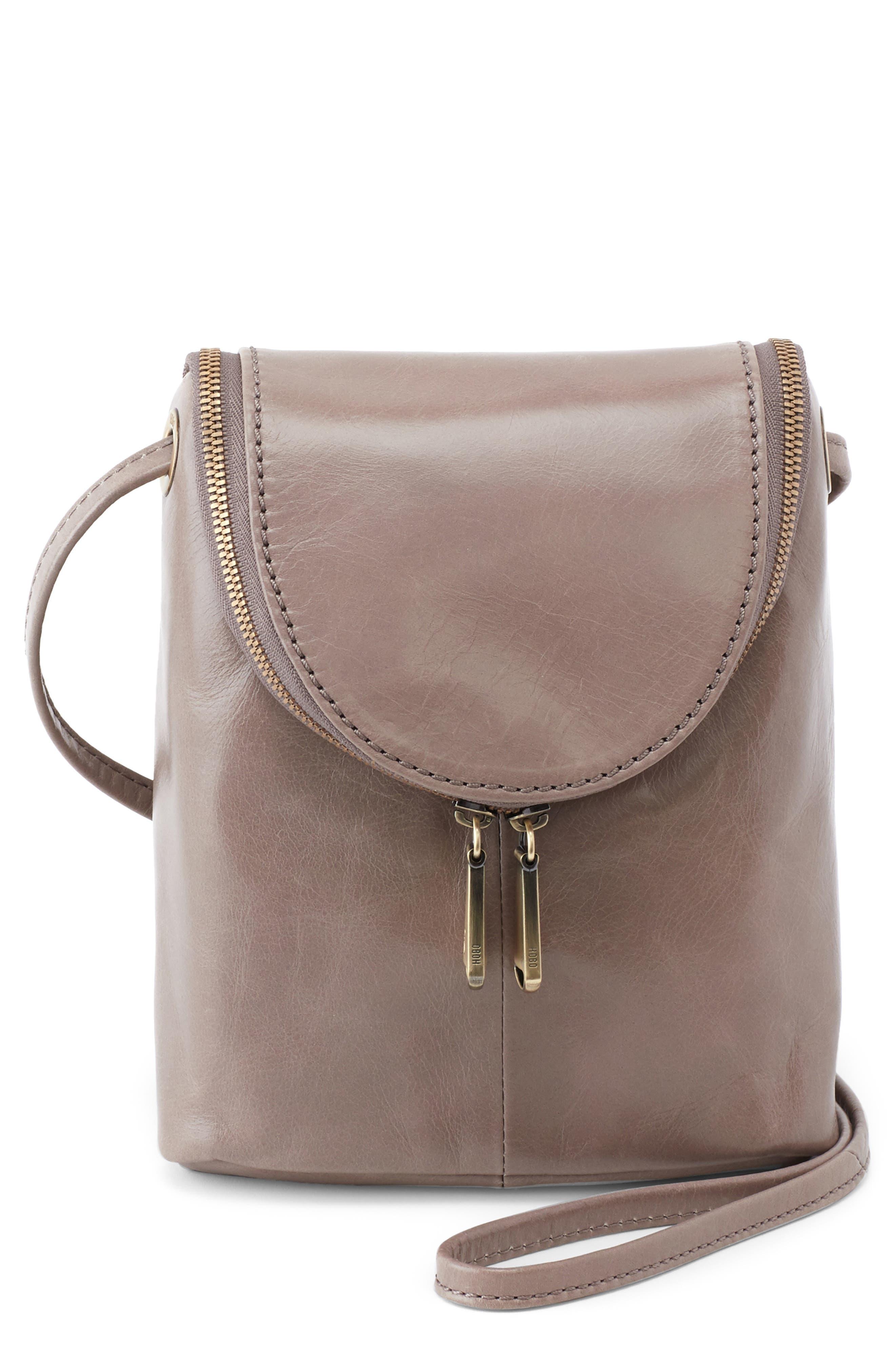 Fern Leather Crossbody Bag