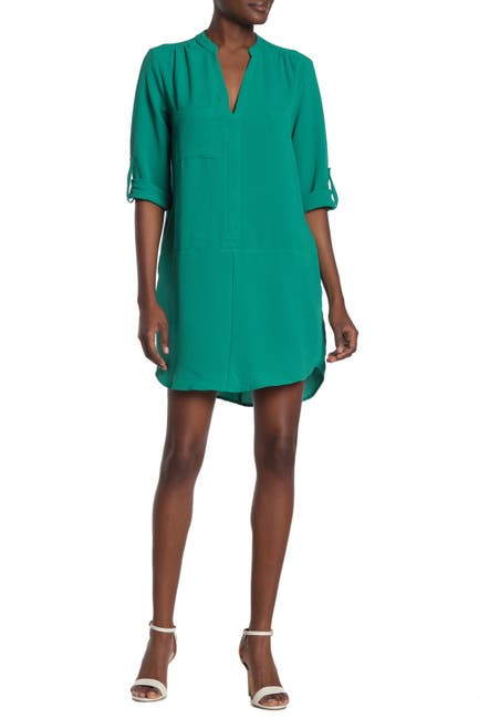 Image of Lush Novak 3/4 Sleeve Shift Dress