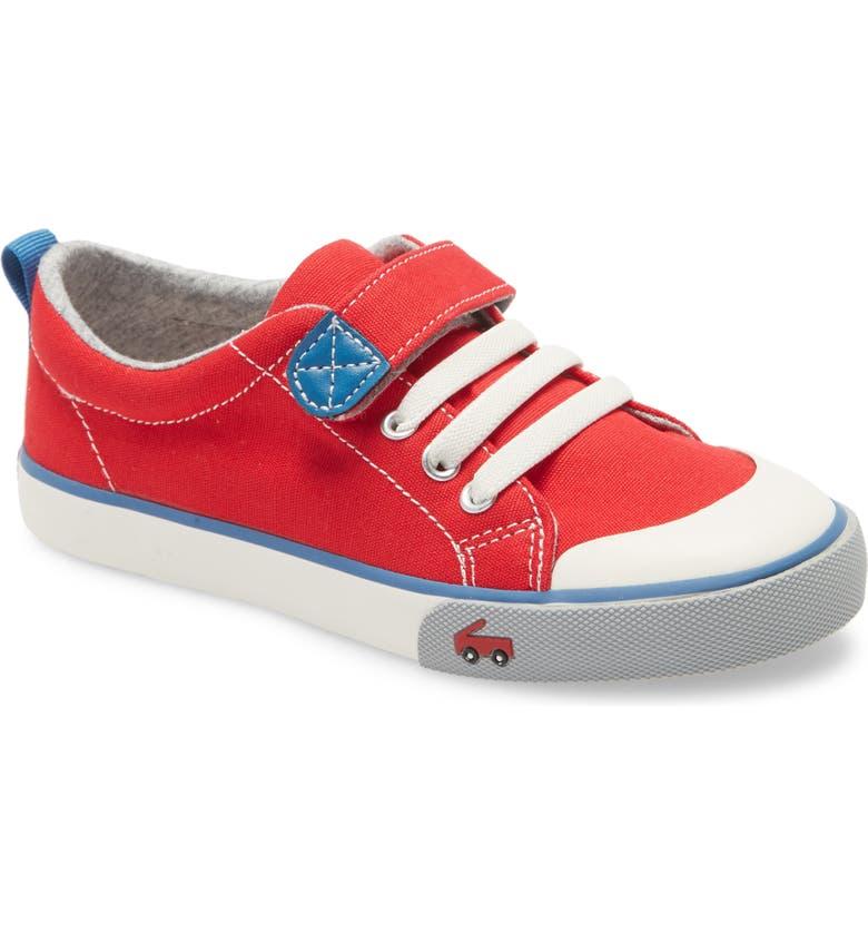 SEE KAI RUN Stevie II Sneaker, Main, color, RED/ BLUE