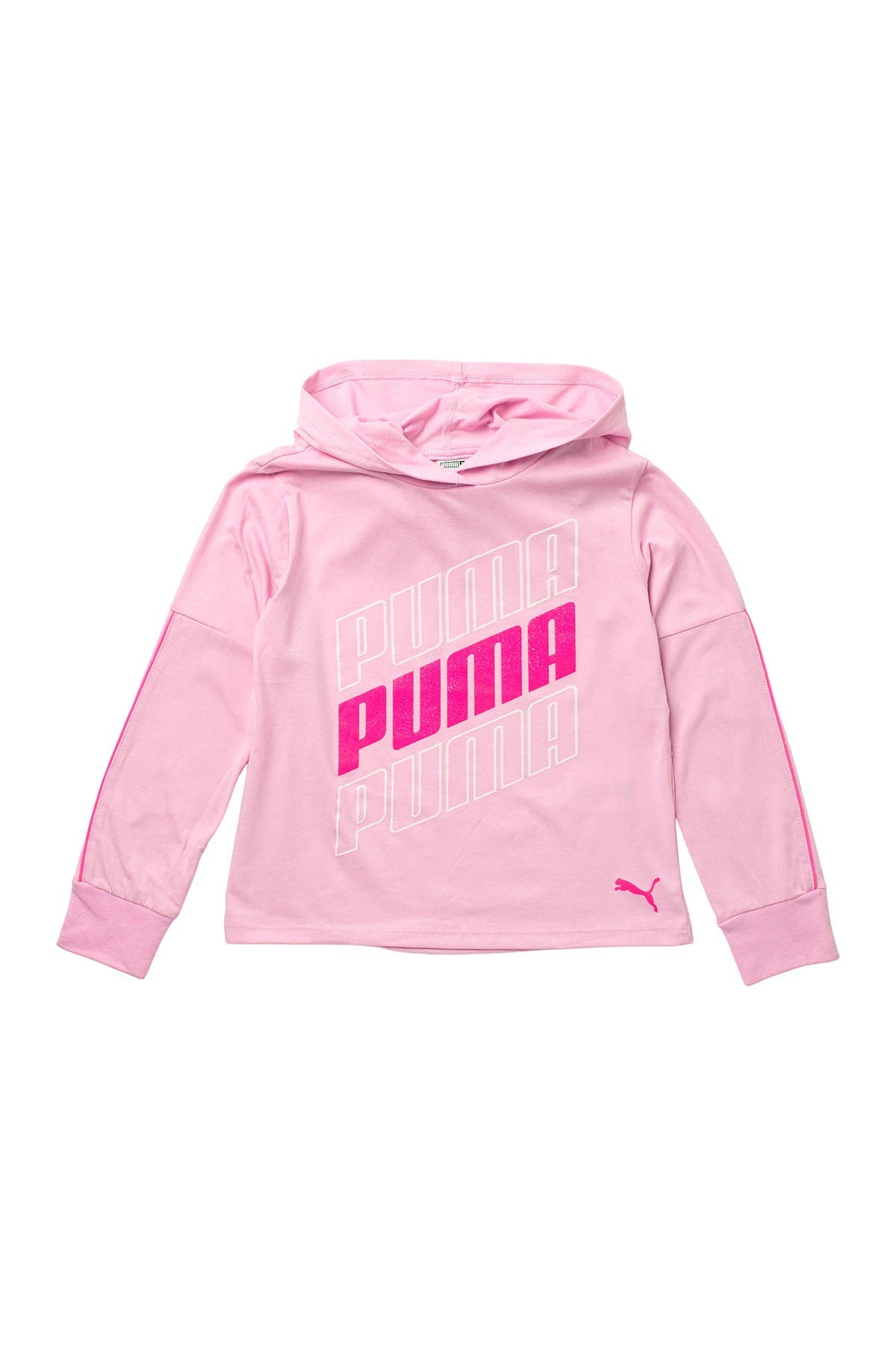 Image of PUMA Modern Sports Pack Hooded Fleece Pullover