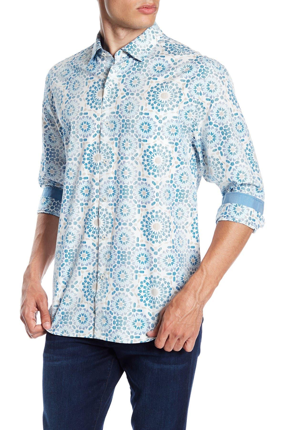 Image of Tommy Bahama Mosaic Long Sleeve Shirt