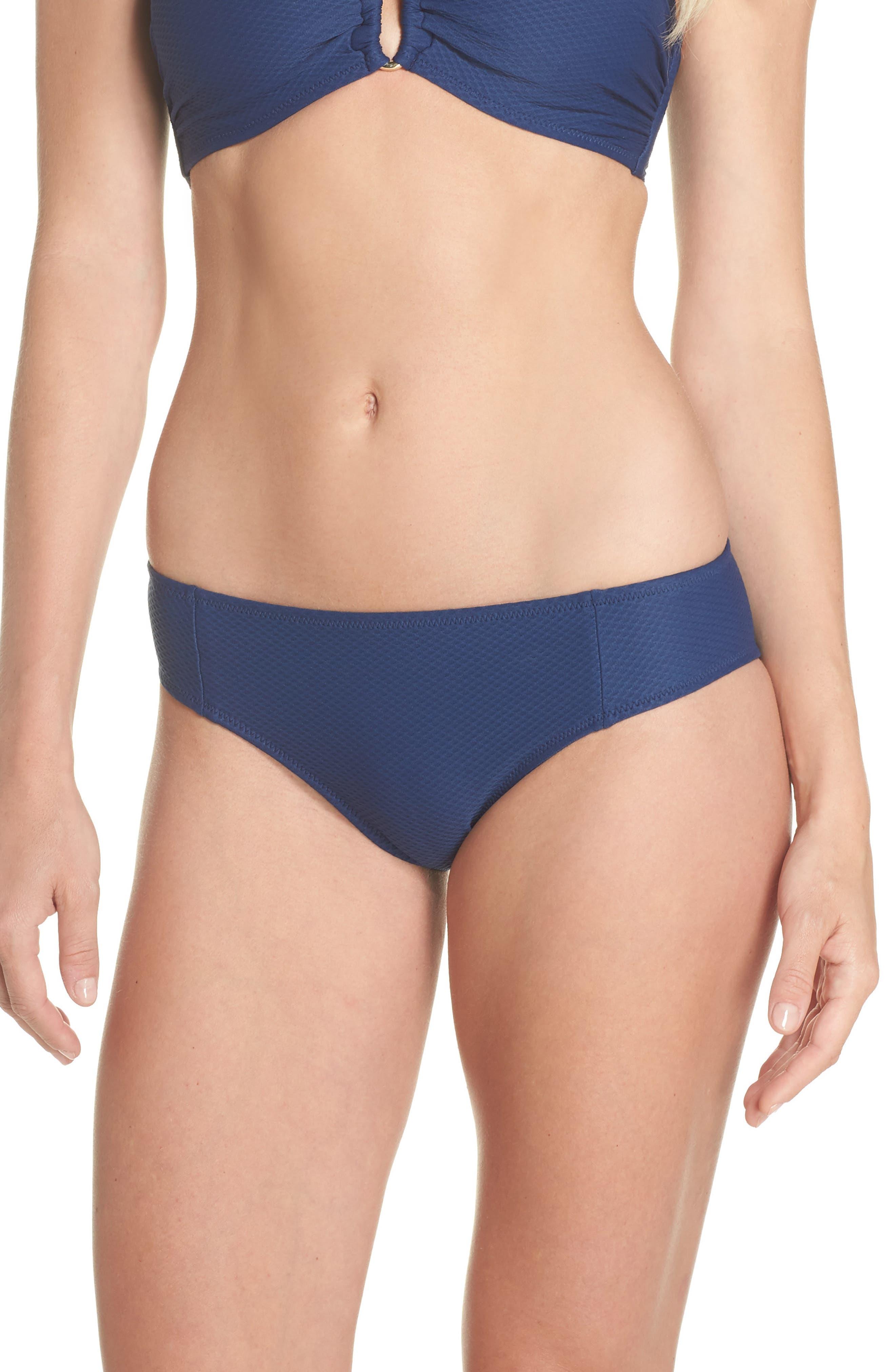 Heidi Klein Core Hipster Bikini Bottoms, Blue