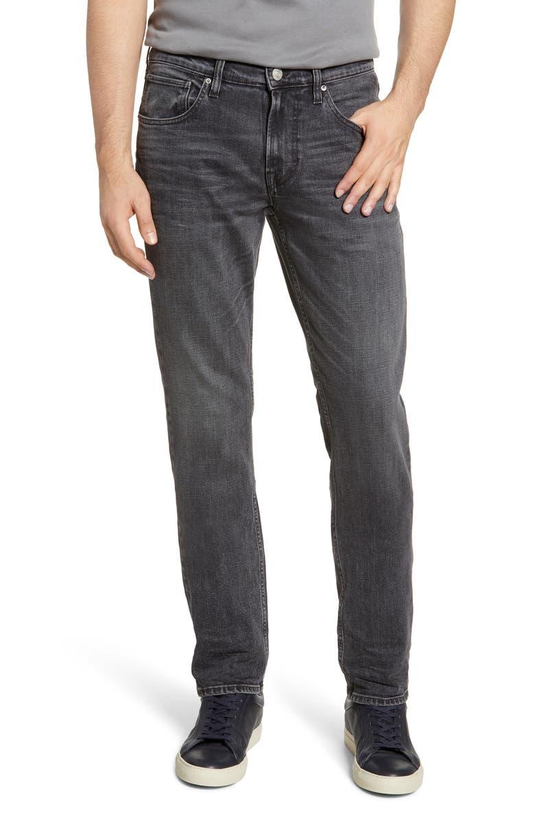 HUDSON JEANS Blake Slim Fit Jeans, Main, color, GRAVER