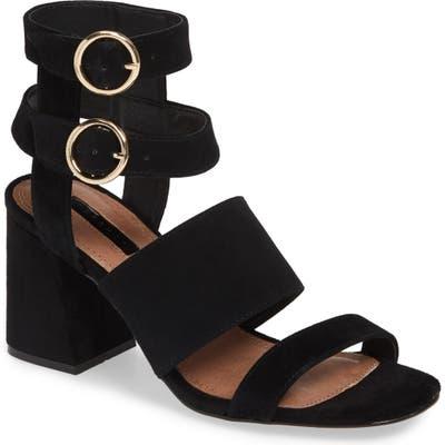 Topshop Nevada Sandal- Black