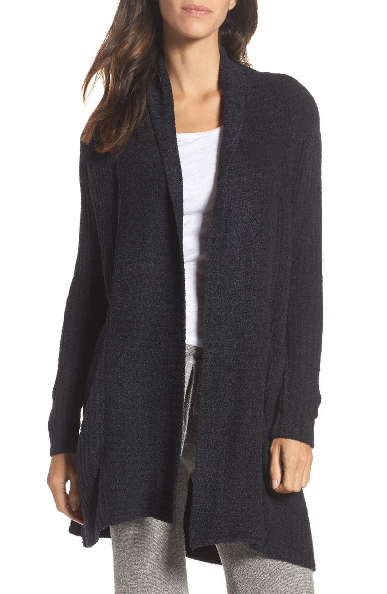 BAREFOOT DREAMS<SUP>®</SUP> Montecito Cardigan, Main, color, 001
