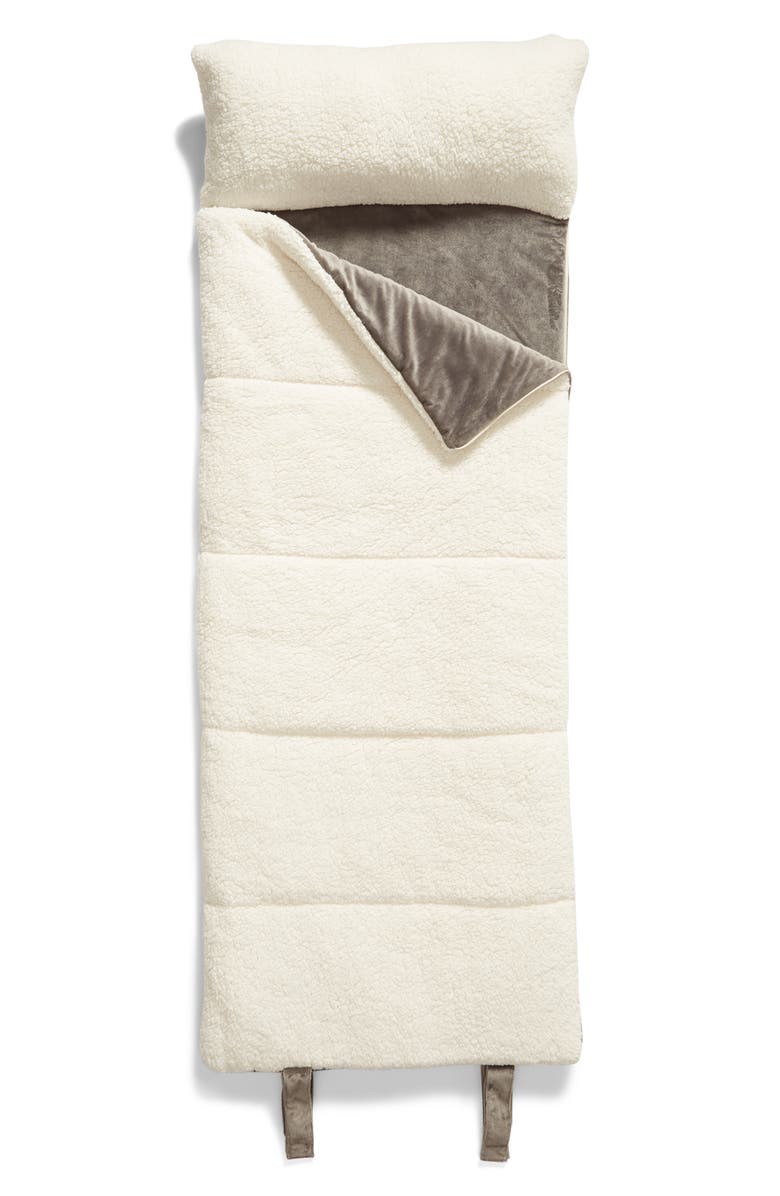 BP. High Pile Fleece Slumber Bag, Main, color, GREY DECEMBER