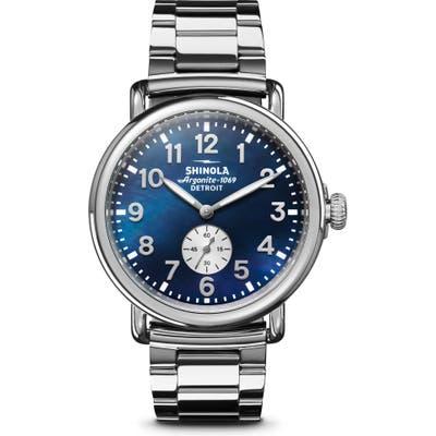 Shinola Runwell Bracelet Watch, 41Mm