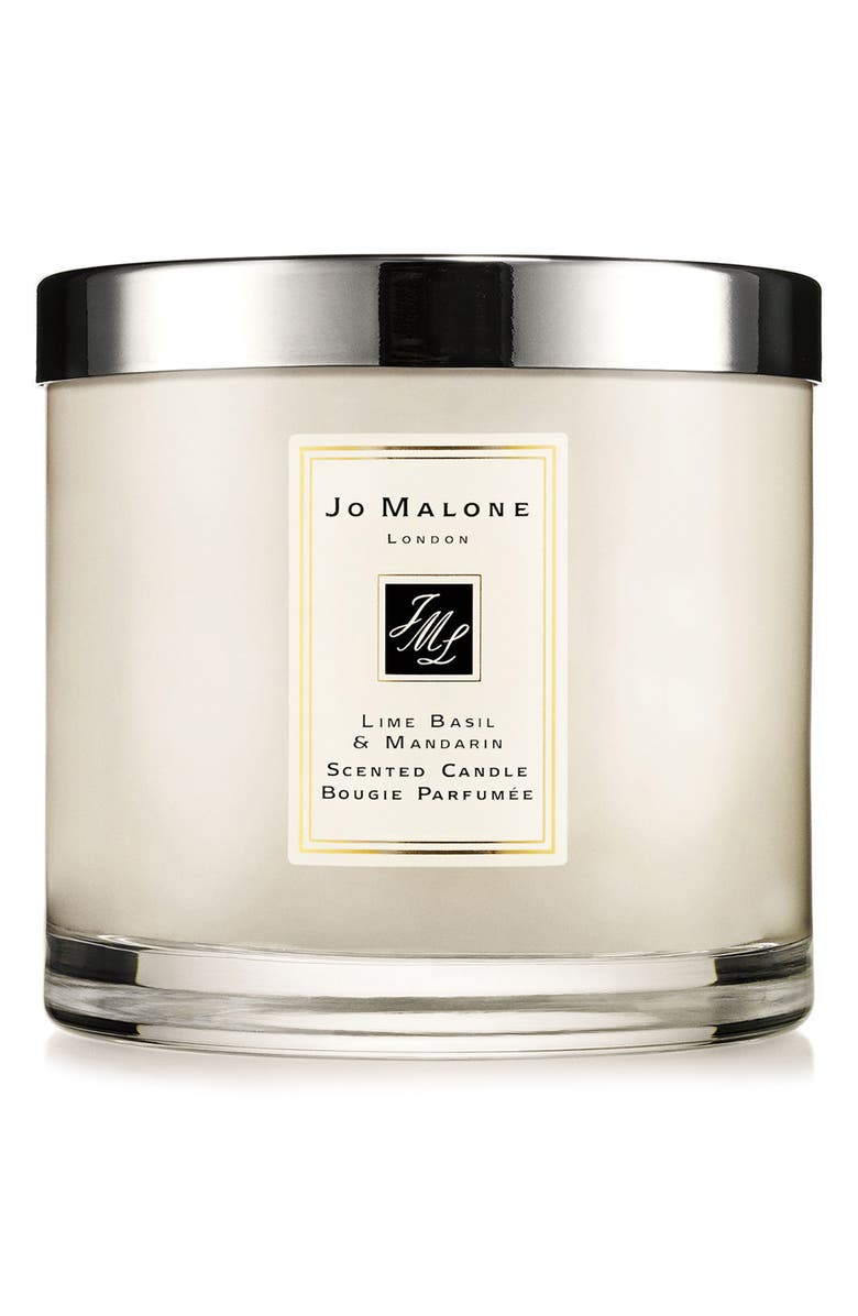 JO MALONE LONDON<SUP>™</SUP> Jo Malone<sup>™</sup> 'Lime Basil & Mandarin' Luxury Candle, Main, color, 000