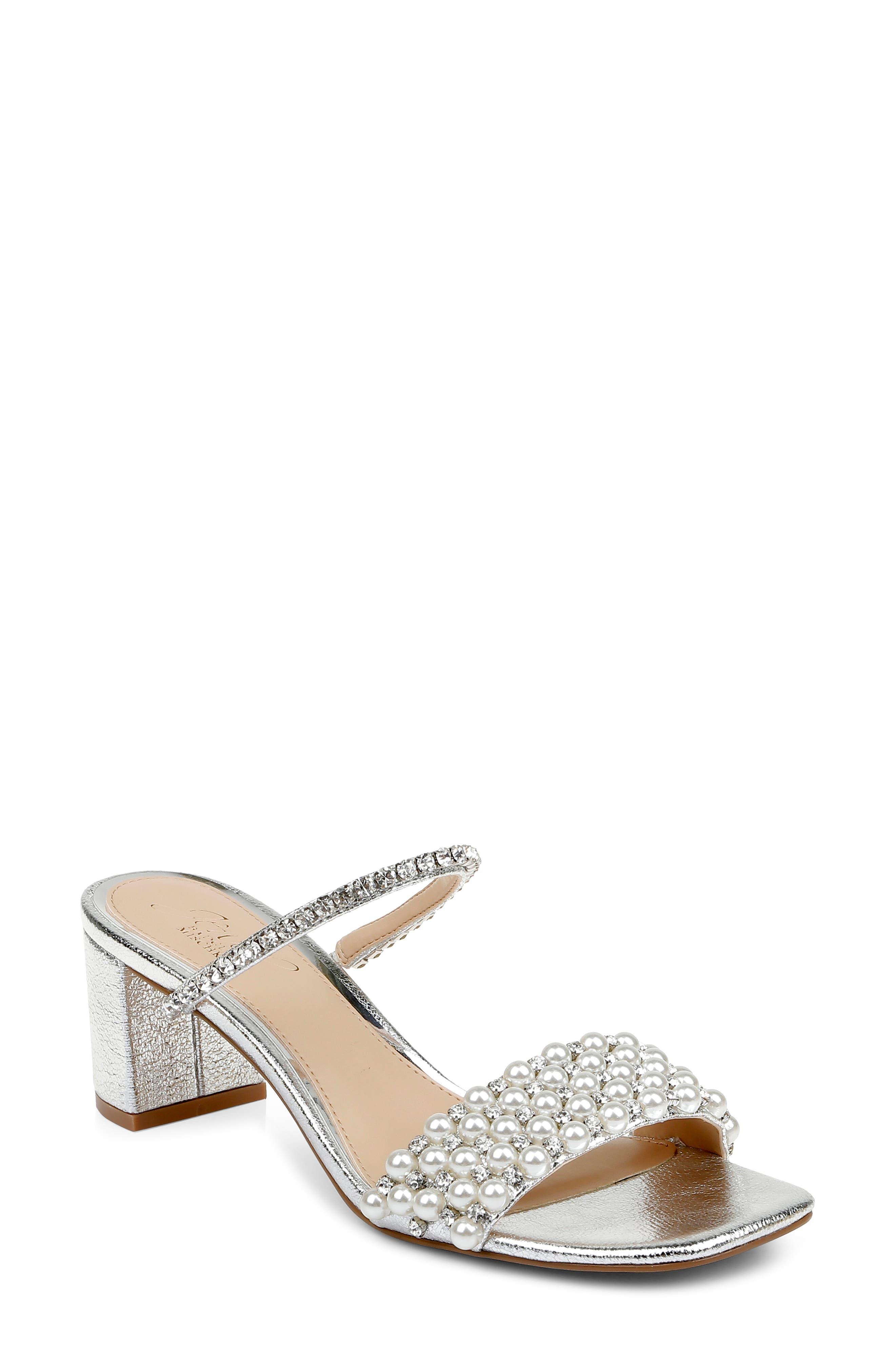 Orsen Embellished Slide Sandal