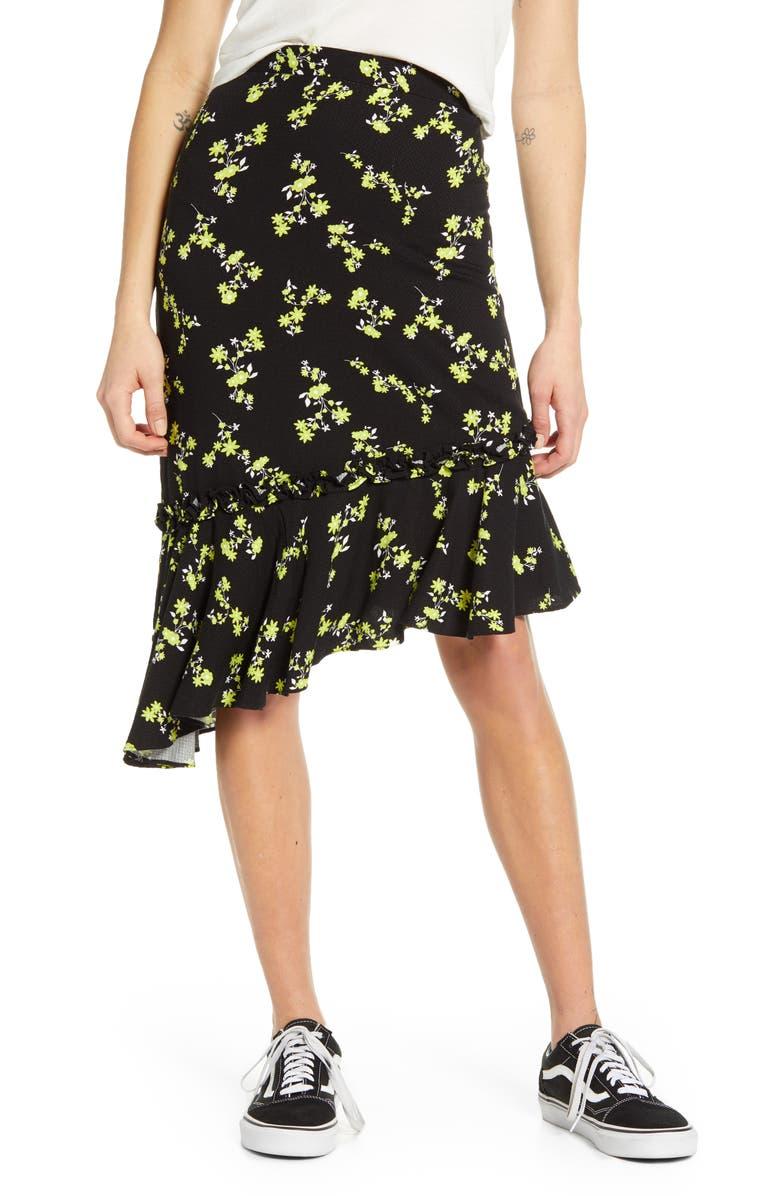 BP. Asymmetrical Skirt, Main, color, 001