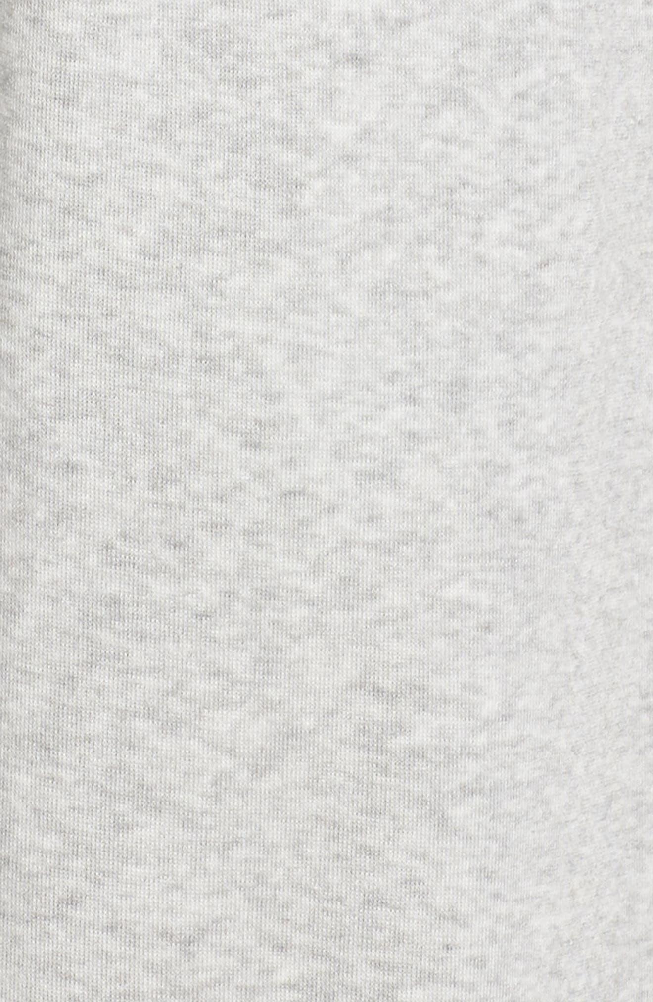 ,                             Cropped Fleece Pants,                             Alternate thumbnail 6, color,                             050