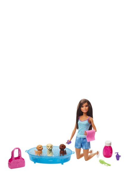 Image of Mattel Barbie(R) Pet Dogs Wash & Accessories Set