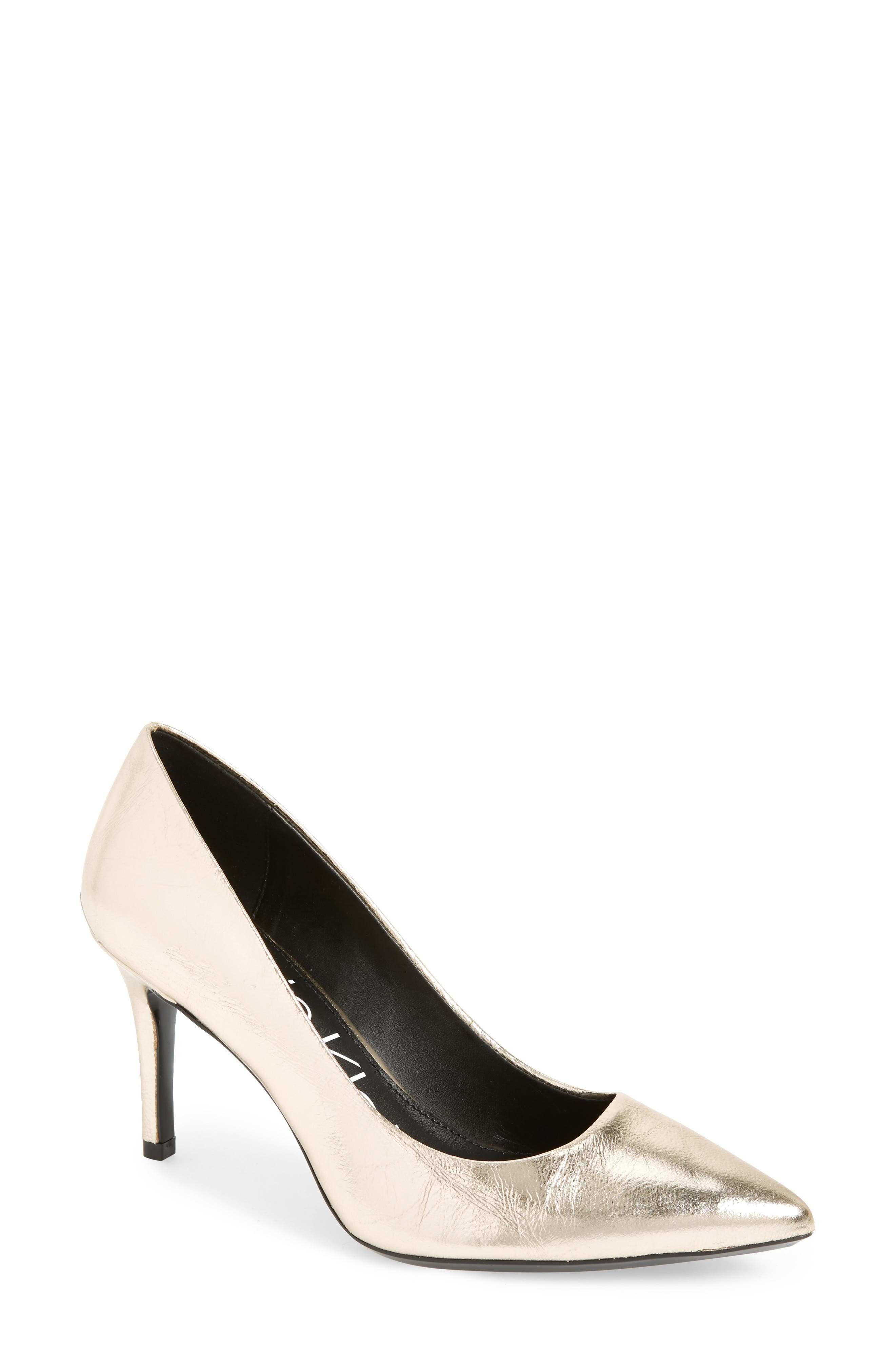 Image of Calvin Klein 'Gayle' Pointy Toe Pump