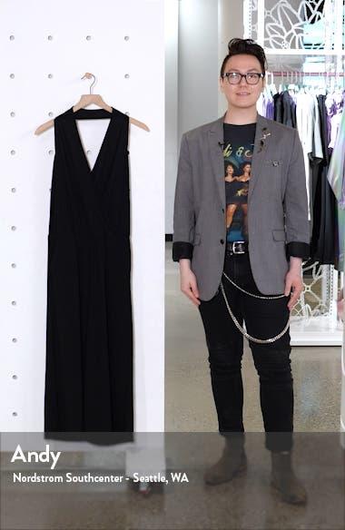 Halter Neck Knit Jumpsuit, sales video thumbnail