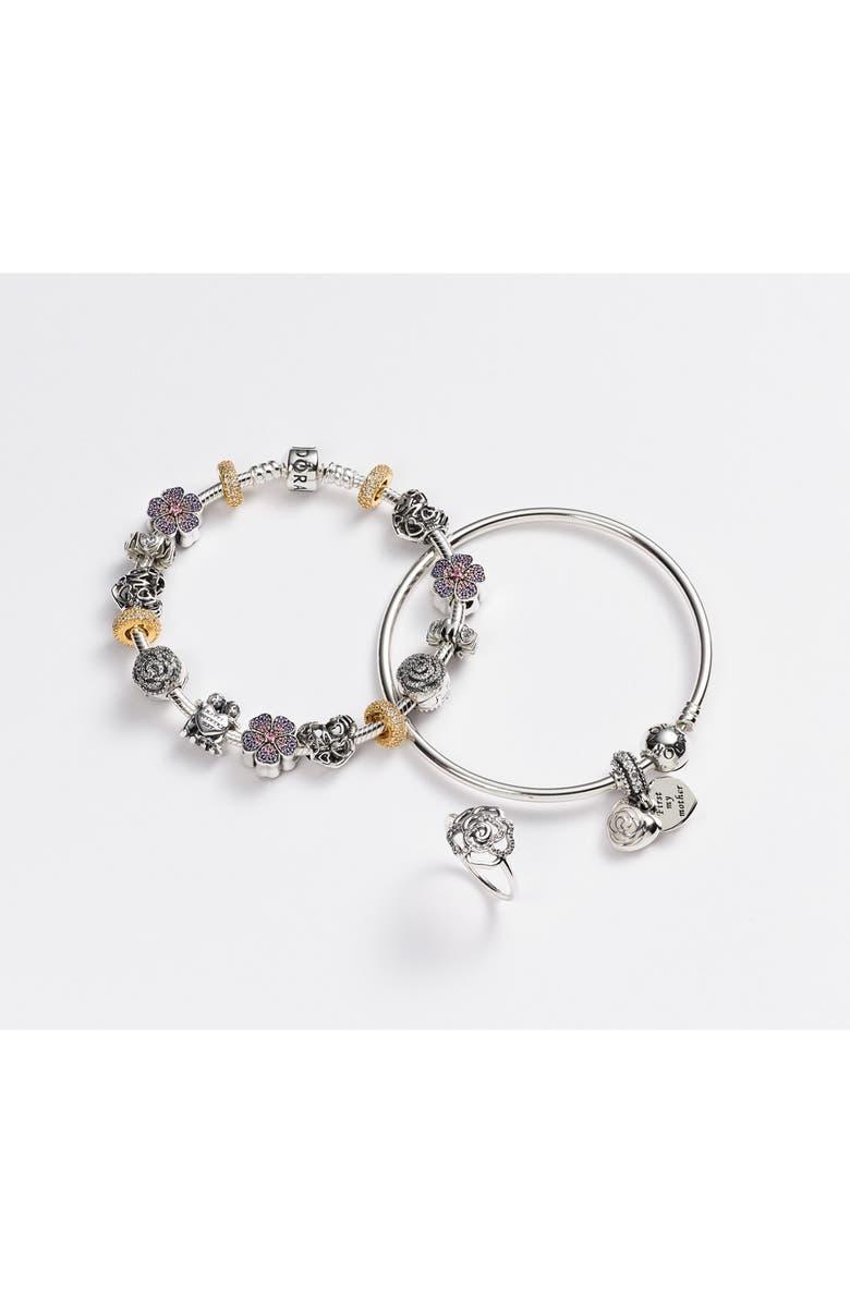 PANDORA Pavé Rose Ring, Main, color, 041