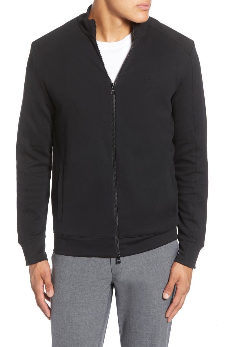 BOSS Shepherd Jacket, Main, color, BLACK