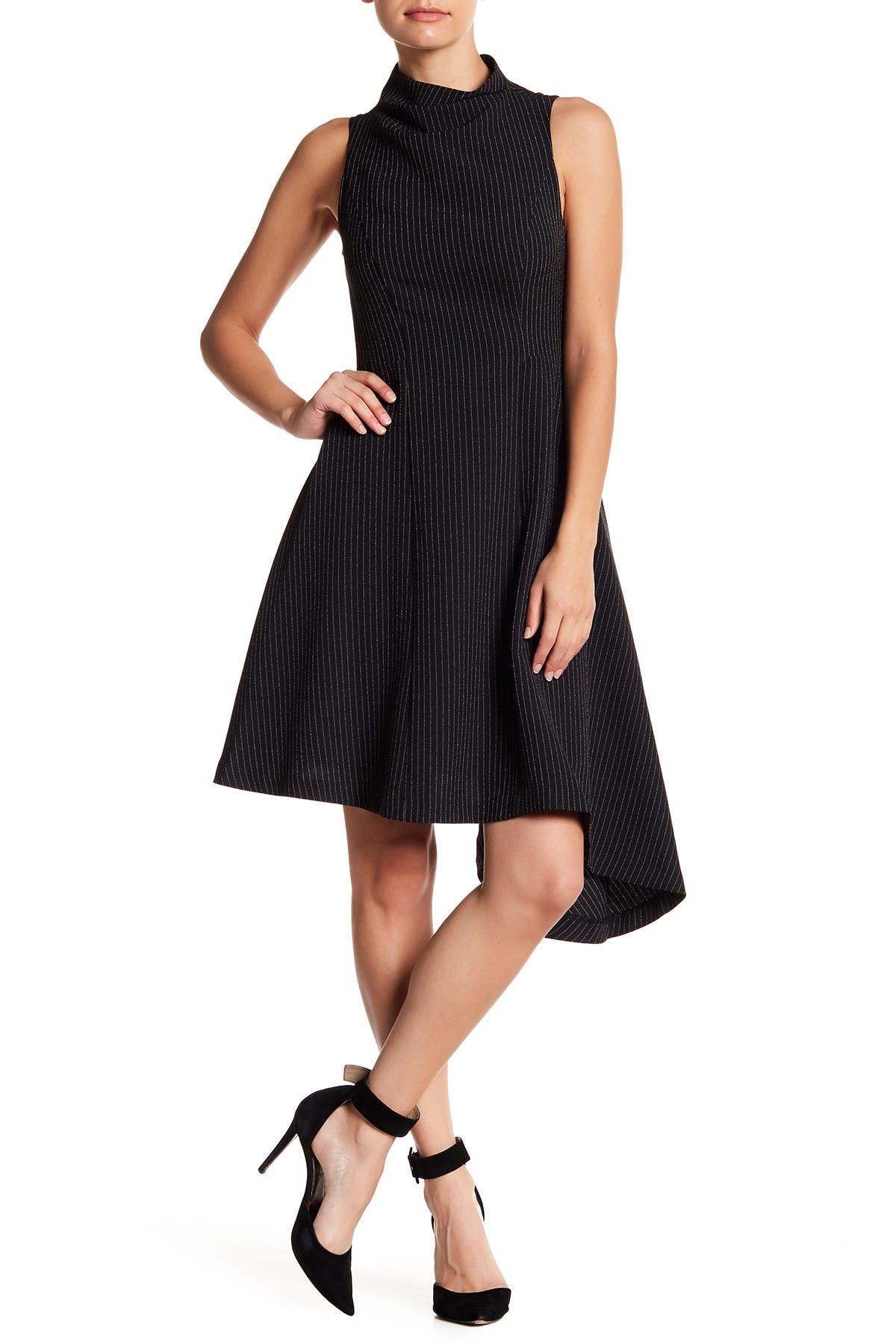 Image of Betsey Johnson Sleeveless Striped Dress